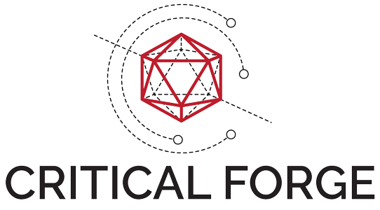 Critical Forge Logo and Title, medium