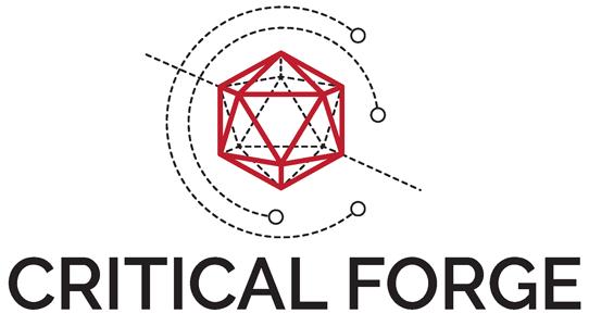 Critical Forge Logo and Title, medium